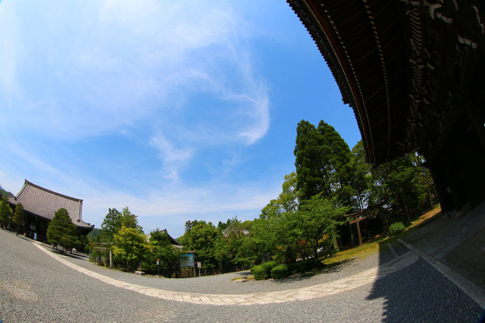 京都・右京区・【魚眼風景】清凉寺20150527-4
