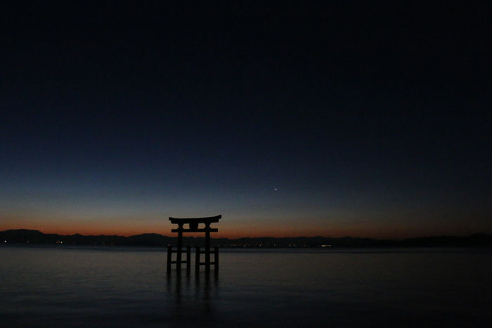 滋賀・高島市・白鬚神社20160211-1