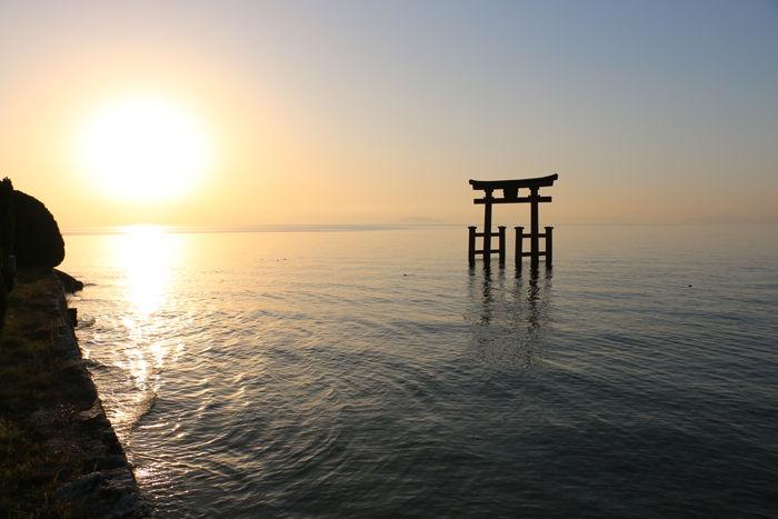 滋賀・高島市・白鬚神社20160419-1