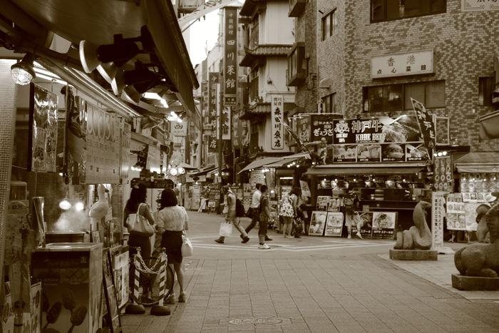 兵庫・中央区・【セピアさんぽ】南京町【中華街】20150721-4