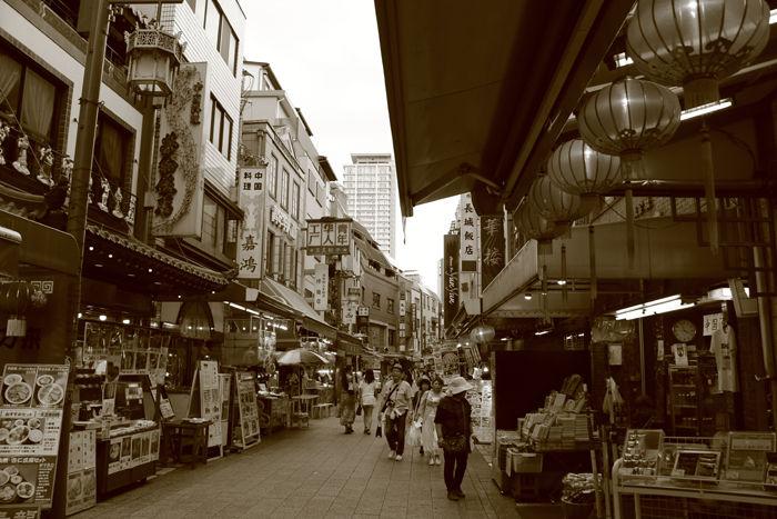 兵庫・中央区・【セピアさんぽ】南京町【中華街】20150721-2