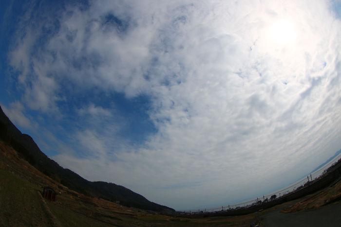 滋賀・高島市・【魚眼風景】鵜川地区20150306-2
