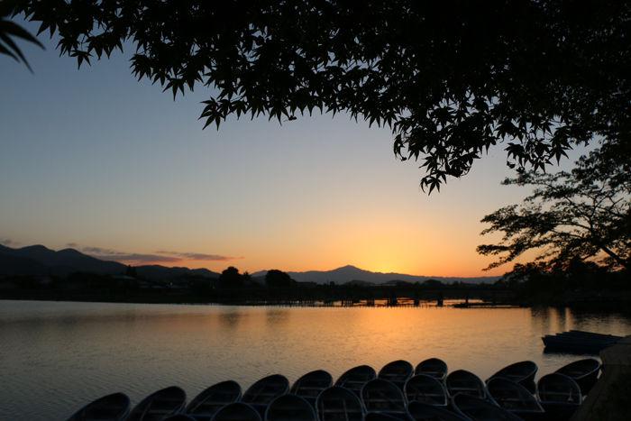 京都・右京区・渡月橋界隈20160810-2