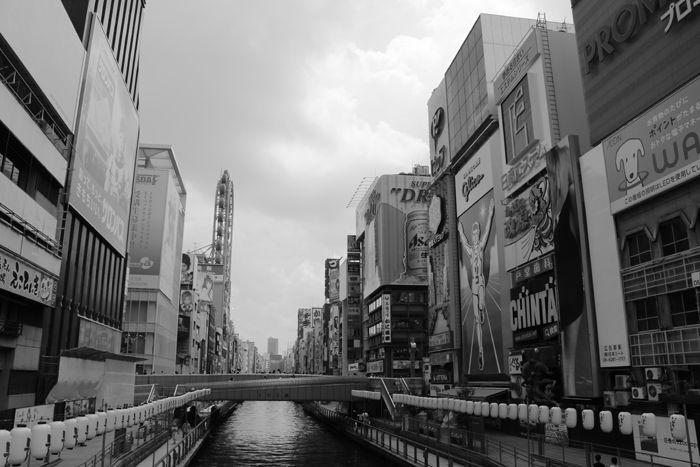 大阪・中央区・【モノクロさんぽ】戎橋界隈20150623-1