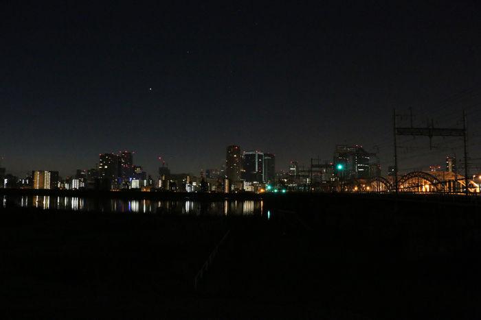大阪・淀川区・淀川河川公園十三野草地区20160116-1