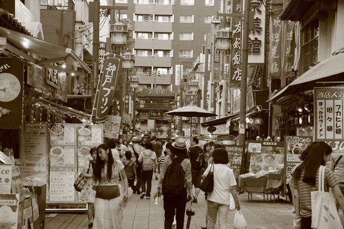 兵庫・中央区・【セピアさんぽ】南京町【中華街】20150721-6