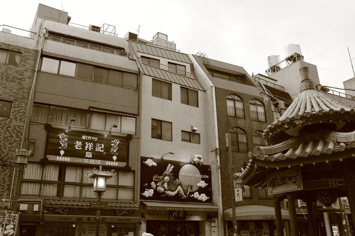 兵庫・中央区・【セピアさんぽ】南京町【中華街】20150721-5