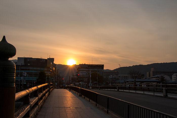 京都・中京区・三条大橋20170405-1