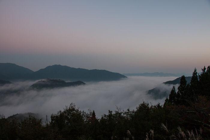 兵庫・朝来市・立雲峡(朝景)20161105-4