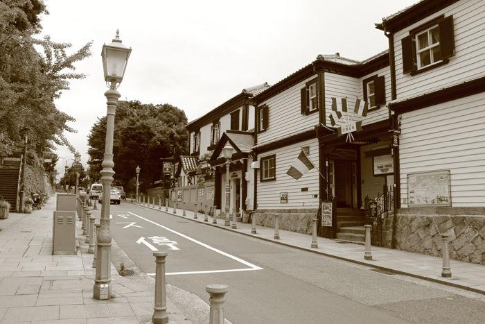 兵庫・中央区・【セピアさんぽ】北野異人館街20150721-1
