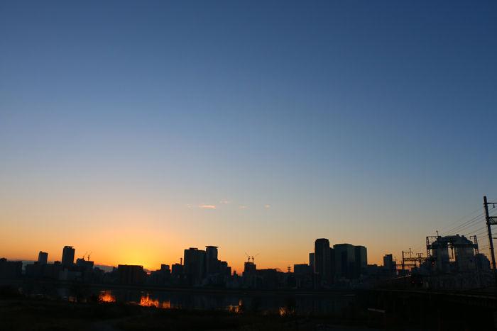 大阪・淀川区・淀川河川公園十三野草地区20160116-9