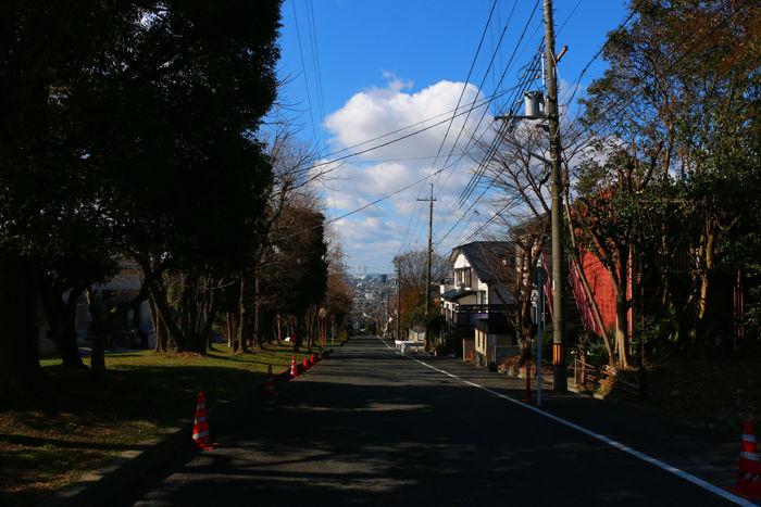 京都・八幡市・【坂道図鑑】男山金振地区20150201-1