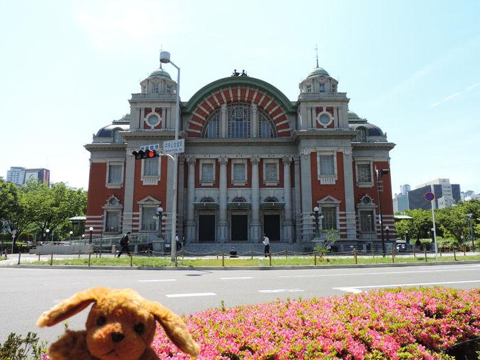中之島エリアの中にある、有名な建造物のひとつ大阪市中央公会堂です。まるで... 大阪府大阪市北区