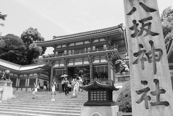 京都・東山区・【モノクロさんぽ】八坂神社~産寧坂界隈20150624-21