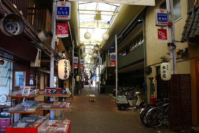 京都・東山区・古川町商店街20150422-3