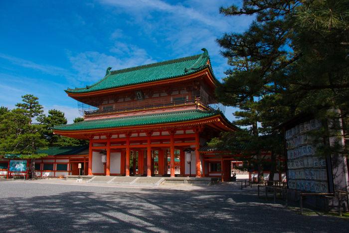 京都・左京区・平安神宮20160927-1