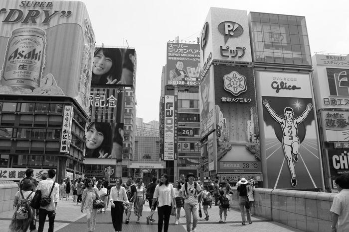 大阪・中央区・【モノクロさんぽ】戎橋界隈20160620-2