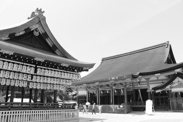 京都・東山区・【モノクロさんぽ】八坂神社~産寧坂界隈20150624-19