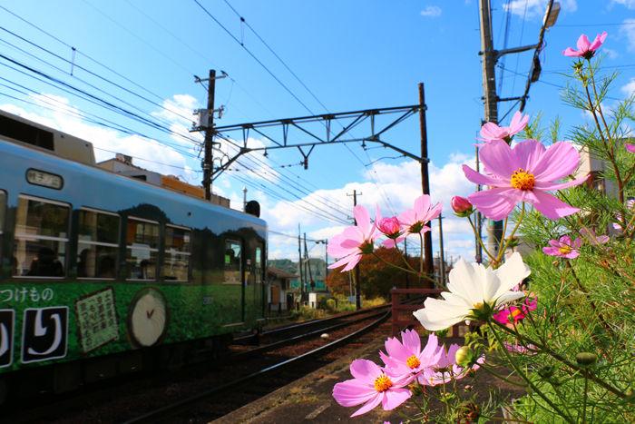 京都・北区・嵐電北野線等持院駅20151103-1