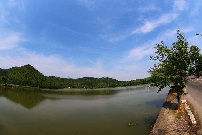 京都・右京区・【魚眼風景】広沢池界隈20150527-8