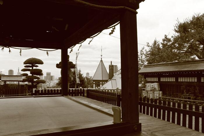 兵庫・中央区・【セピアさんぽ】北野異人館街20150721-7