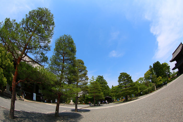 京都・右京区・【魚眼風景】清凉寺20150527-2