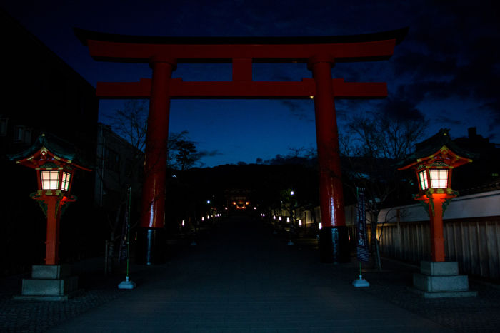 京都・伏見区・伏見稲荷大社20170225-1