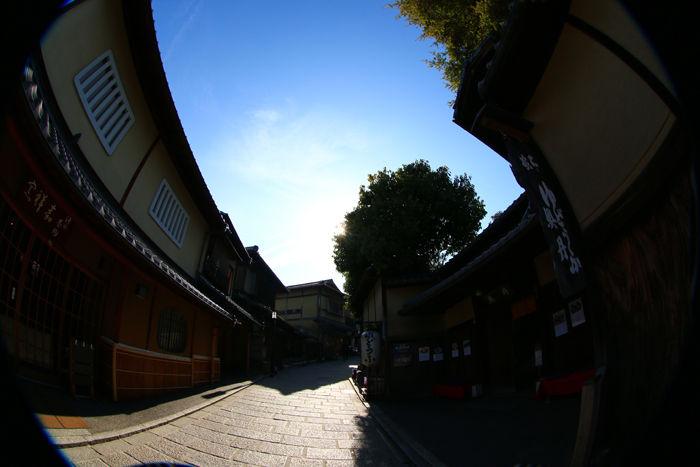 京都・東山区・【魚眼風景】八坂神社~産寧坂界隈20150221-5