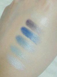 ファッショナブルアイシャドウ ブルー