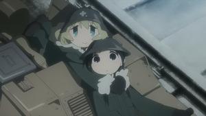 少女終末旅行 #1 星空/戦争 05