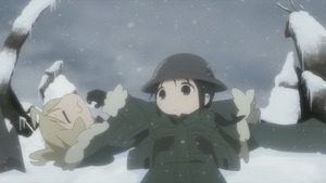 少女終末旅行 #1 星空/戦争 15