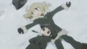 少女終末旅行 #1 星空/戦争 14