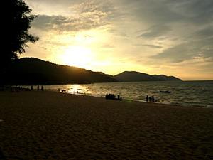 Penang-Beachsunset