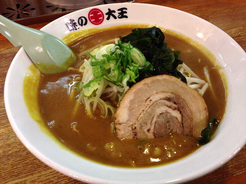 味の大王 総本店 (初) : 麺一杯