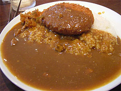 えだ豆ポテトコロッケカレー630円@ココイチ(カレーハウスCoCo壱番屋)