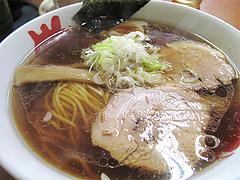 料理:正油ラーメン600円@めんとく屋
