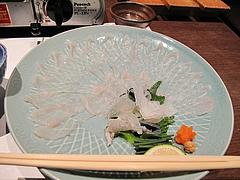 料理:ふぐ刺し@一椿・和(なごみ・NAGOMI)・小倉