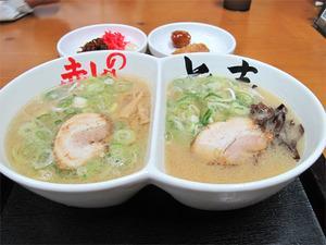 9食べ比べラーメン800円@赤のれん&とん吉