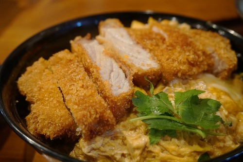 【福岡】博多うまか豚の極みカツ丼&ミニうどんセット♪@うどん 大文字
