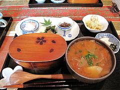 料理:野の花膳500円@おちゃの舎 野の花・福岡県小郡市