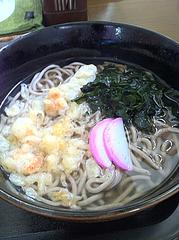 7ランチ:カツ丼セットの蕎麦@うどん盛安・福岡大学近く