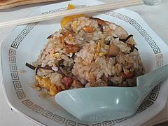 料理:ラーメン+半分チャーハン750円@博多ラーメンしばらく平和台店