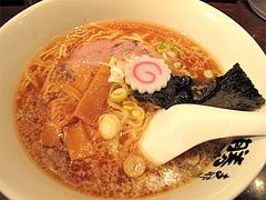料理:正油らーめん650円@支那そば勝丸・ラーメンスタジアム・キャナルシティ博多