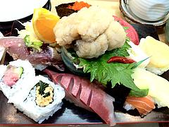 料理:ランチのすし定食裏@鮨あつ賀・福岡