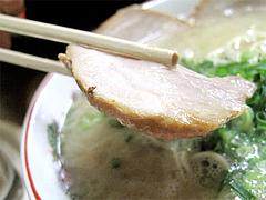 料理:チャーシューメンのアップ@博多めんとく屋ラーメン