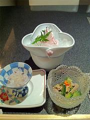 2夜:前菜@たつみ寿司・総本店・博多