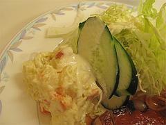 12ランチ:ポテサラ@定食の味作食堂