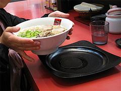 料理:ラーメン食べる@ラーメン新月・西新