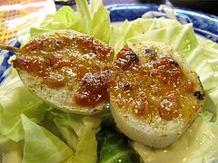 料理串:肉入りレンコン210円@焼鳥みのかさ・小笹