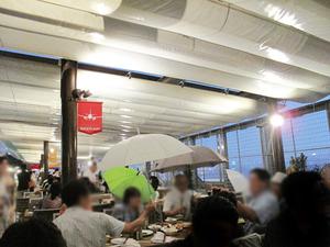15雨2@福岡空港ビアガーデン